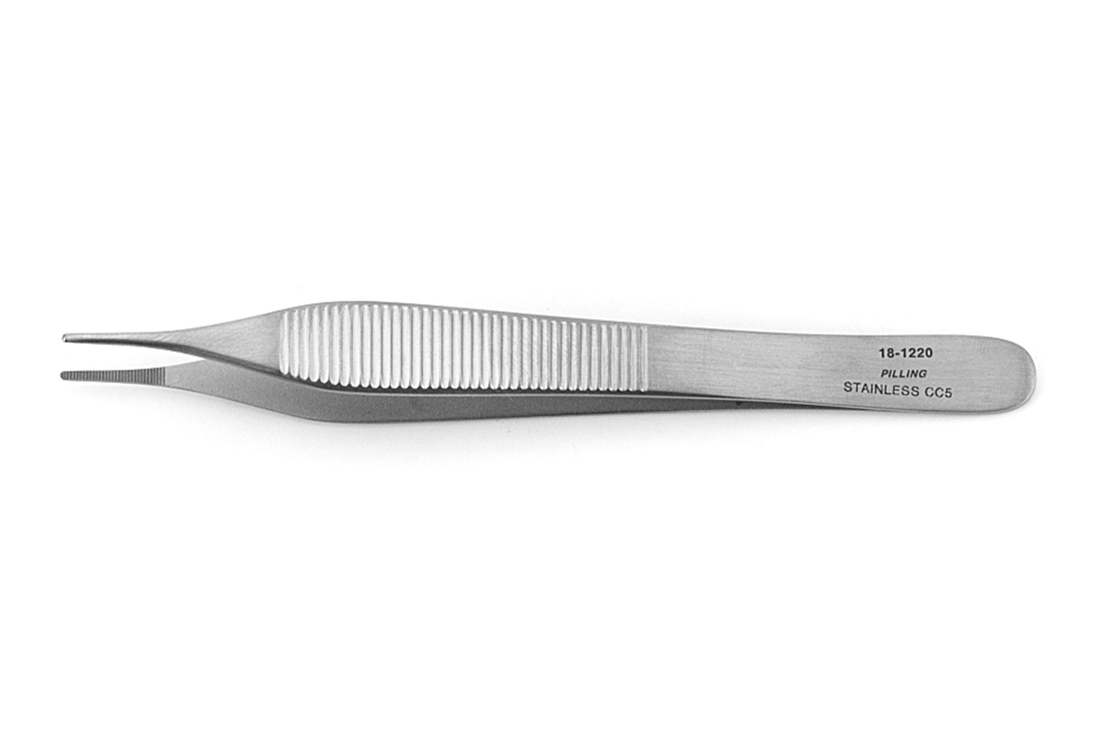 variedad de diseños y colores vendible venta profesional Instrumental pinza adson con dientes 12cm satinada | PILLING ...
