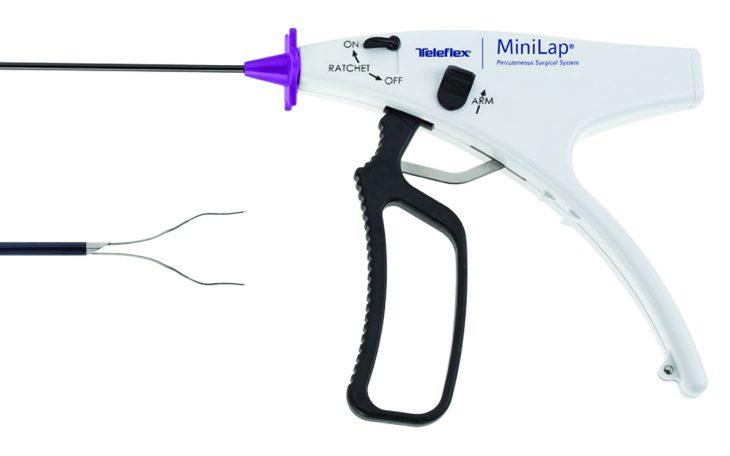minilap sistema cirugía mínimamente invasivo babcock minigrip